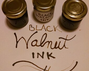 1.5 oz, Black Walnut Ink, Natural Preservative