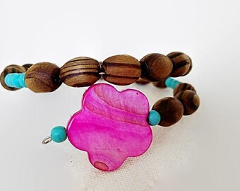 Bracelet for women - Friendship bracelet - Boho bracelet - Turquoise bracelet- Bead bracelet for woman Women's jewelry - Protection bracelet