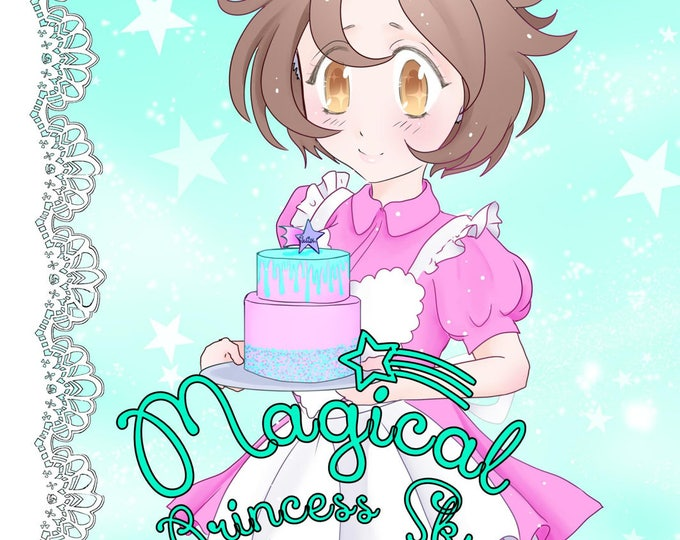 Magical Princess Sky Volume 4 - original manga