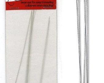 3 1/2 inch Flexible Beading Needles Bead Craft - 1144-25 fnt