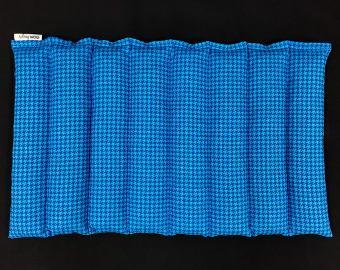Corn Bags, Corn Heating Pad, Microwavable Heating Pad, Cold Pack, Fitness Therapy Pad, Pelvic/ Lumbar Heat Pack, Cramps, Blue or Pink
