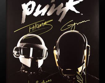 Daft Punk Signed Poster