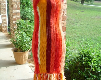 Candy Crochet Dress w/ Fringe