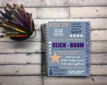 Laminated Planner Covers and Dashboards - Lyrics