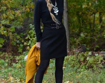 20% discount!  SALE! High waist skirt Zara like new!  double belt 90's Small
