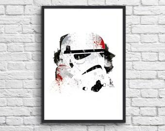 Art-Poster 50 x 70 cm - Storm Trooper - Star Wars