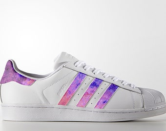 Custom Adidas Superstar,superstar,galaxy,space,custom sneakers ,custom shoes  ,