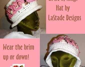 Circle of Rings Hat PDF Crochet Pattern