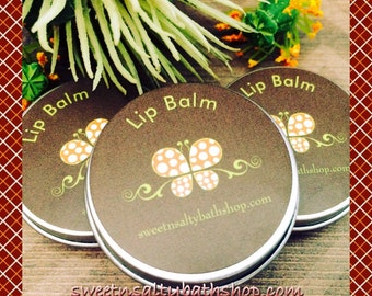 New!! Fall Flavored Lip Balm-lots of flavors to Choose From Cranberry/Marshmallow/English Toffee/Egg Nog/Cinnamon Vanilla