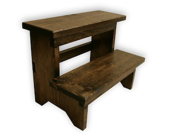 Step Stool Etsy - Wooden step stools for the kitchen