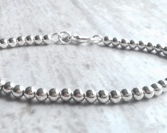 Sterling Silver Bracelet | dainty bracelet | sterling bracelet | delicate bracelet | stacking bracelet | silver bangle | minimalist bracelet