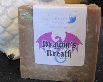 Dragon's Breath Steampunk Patchouli Natural Soap Bar