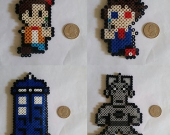 Doctor Who Perler Beads