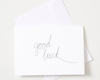Greeting Card - Script / Get Well Soon