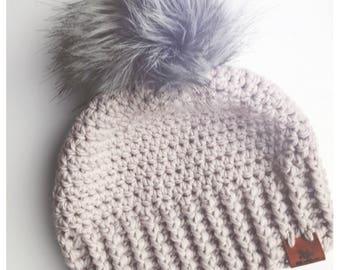 Versatile Pom Pom Hat