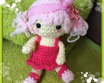 Crochet doll Jessica