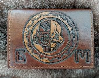 Personalized Passport cover Warhammer 40000 Adeptus Mechanicus