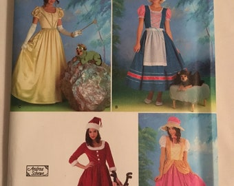 Simplicity 2827 Misses' Costume SZ 6-12 & 14-20 (Uncut and Out of Print)