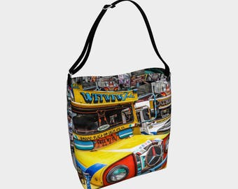 Baguio Jeepneys Day Tote style 1