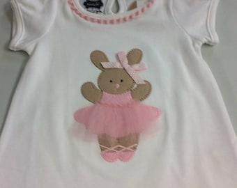 Bunny ballerina tunic