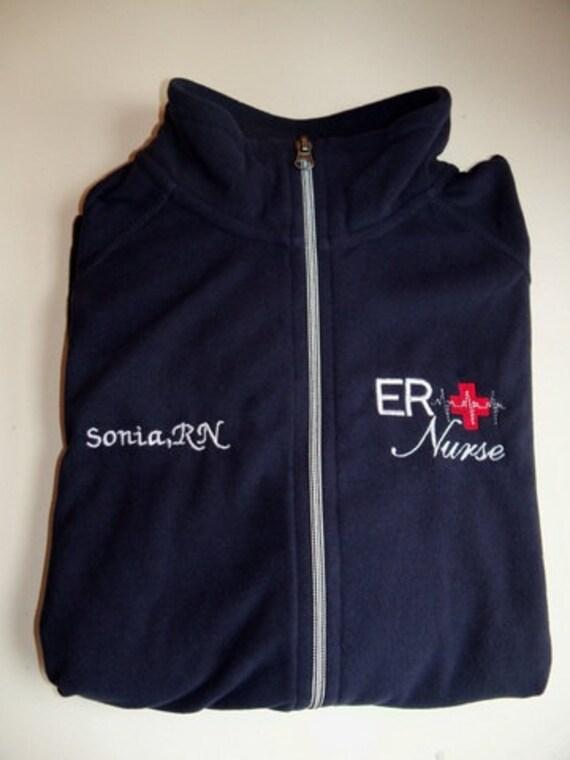Buy Now Men Clothing Nurse-R.N. Monogram Embroidered Jacket
