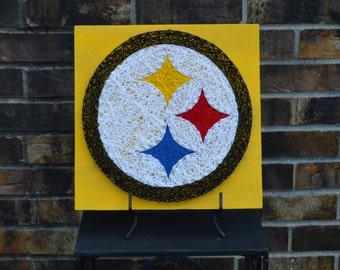 Pittsburgh Steelers String Art