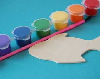 Fish Party Craft Kits, Under the Sea Paint Kit, Ocean Party Craft