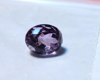Natural Amethyst Faceted Cut Calibrated Oval shape loose semi precious gemstone size 11 x 8 mm #2088