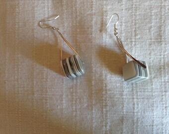 Earrings cubic sales