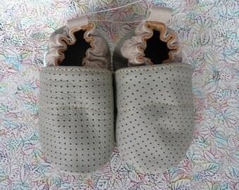 Baby shoes soft sole Baby gift Kids Toddler Booties Moccasins Girls Boys Zapatos bebé cuero Chausson bébé cuir Mocassin bébé Handmade