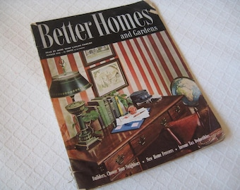 March 1946 issue Better Homes & Gardens magazine