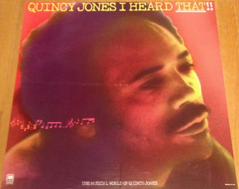 Quincy Jones Poster I Heard That!! 1977 A&M Records