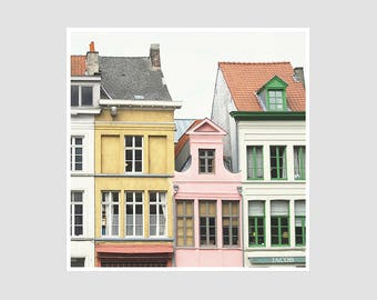 Gent Houses - 8x8 Original Signed Photography