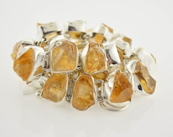 Organic Citrine Necklace