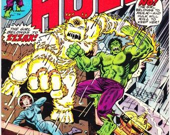 The Incredible Hulk 183, Bronze Age comic, Smash, Battle book, Herb Trimpe art. 1975 Marvel Comics in VF (8.0)