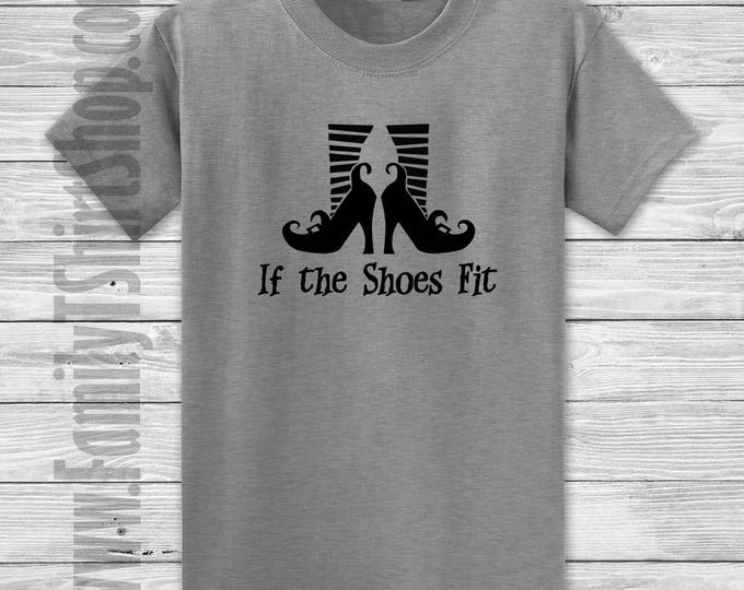 I the Shoes Fit Halloween Witch T-Shirt