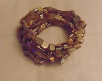 Pretty Shell Expansion/stretch Bracelets
