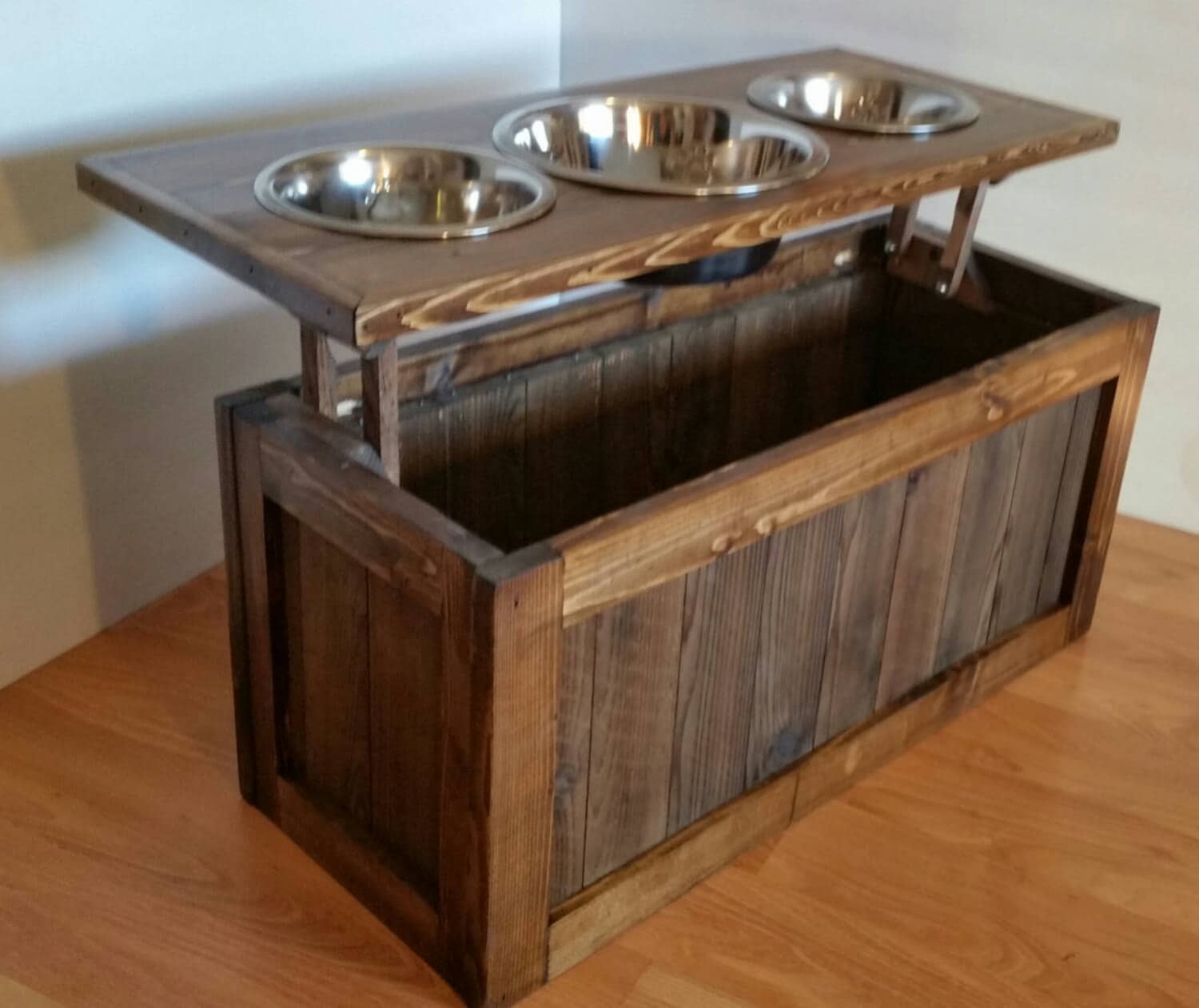 woodworks dog licensees stand feeder tall three made wooden bowl the food water mm bowls campaign and raised fabian elevated australian