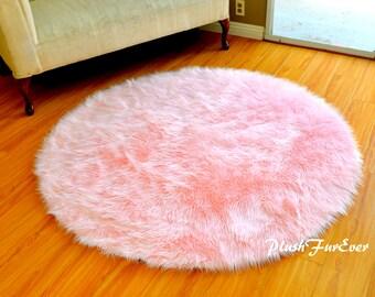 Baby Plush Nursery Area Rugs Sheepskin Premium Flokati Shag Indoors Accents  Handmade Quality Rug Made In
