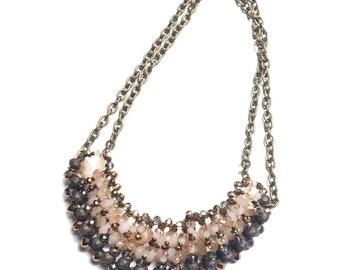 Bead Necklace / Boho / Necklace / Chic / Statement Jewelry / Classy / Bib Necklace