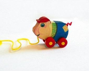 Piggy Pull Toy Dollhouse Miniature KIT