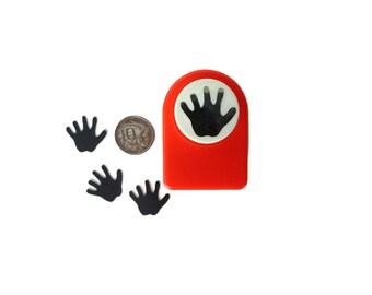 Medium Hand Print Punch for Card Making & Scrapbooking