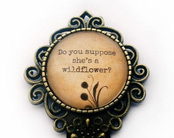 """Alice in Wonderland """"Do you suppose shes a wildflower."""" Bookmark"""