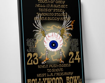 Hollywood Bowl Gallery Wrapped Canvas Print