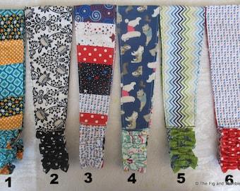Fabric Headband Women Teens Girls Reversible Hairband - Dogs, Patriotic, Unicorns...Pick one