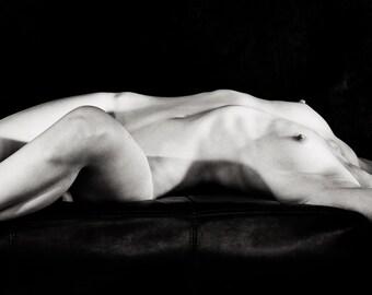 Sarah Voss Nude No. 8011 Fine Art Baryta Print