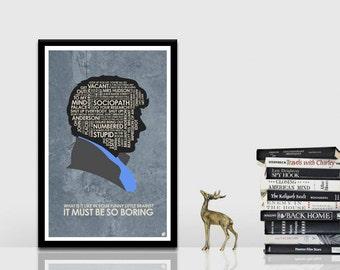 Sherlock Quote Poster
