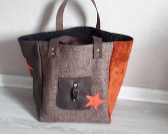 Brown Bag orange