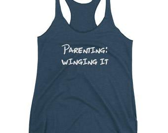 Parenting: Winging it - Women's tank top