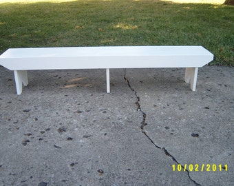 wooden bench short bench meditation bench kneeling bench recycled custom made salvaged